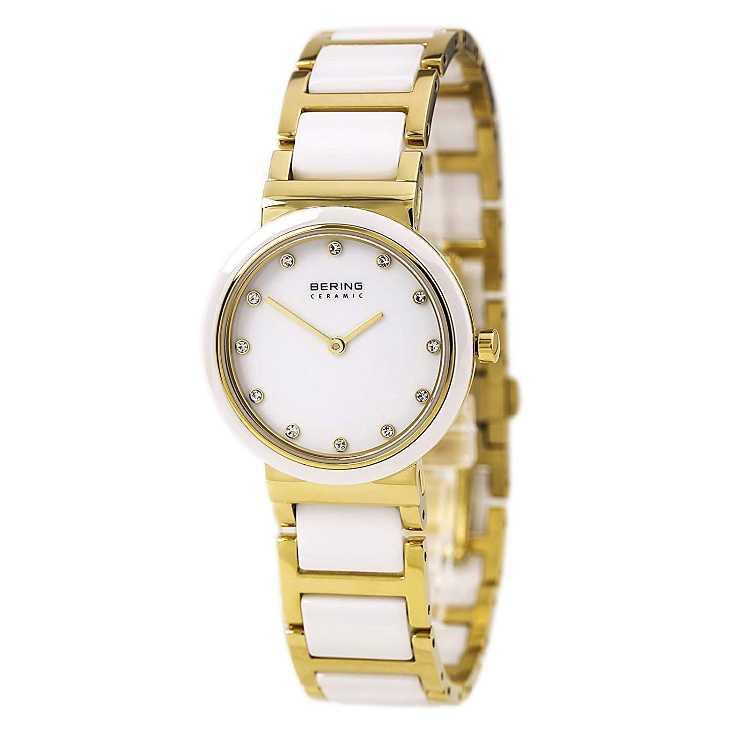 Bering Time Damen-Armbanduhr Ceramic Analog Quarz 10729-751