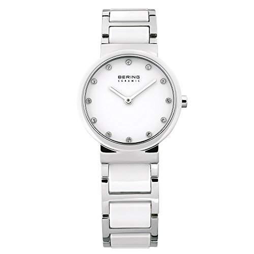 BERING Time Damen-Armbanduhr Slim Ceramic 10729-754
