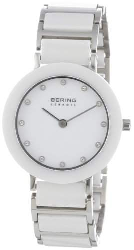 BERING Time Damen-Armbanduhr Slim Ceramic 11429-754