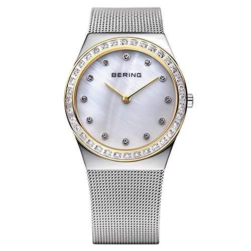 BERING Time Damen-Armbanduhr Slim Classic 12430-010