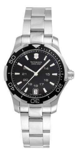 Victorinox Swiss Army Womens 241305 Alliance Sport Lady Black Dial Watch