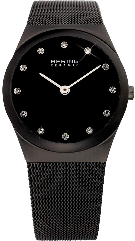 BERING Time Damen-Armbanduhr Slim Ceramic 32230-382