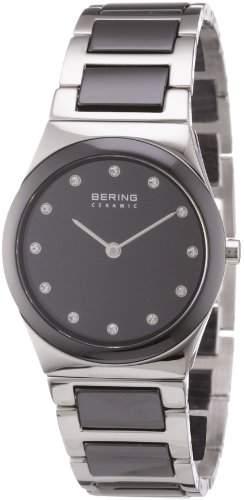 BERING Time Damen-Armbanduhr Slim Ceramic 32230-742
