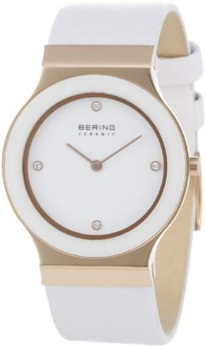 BERING Time Damen-Armbanduhr Slim Ceramic 32834-664