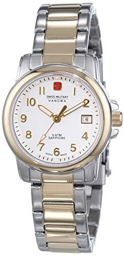 Xs Edelstahl Beschichtet Armbanduhr Hanowa Military 06 7141155001 Damen Quarz Swiss Lady Soldier Prime Analog wm8Nvn0