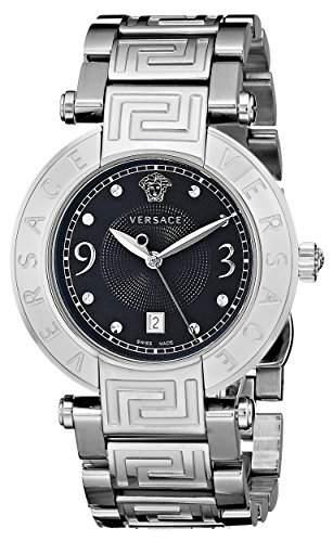 Versace Damen-Armbanduhr XS New Reve Analog Quarz Edelstahl 68Q99D009S099