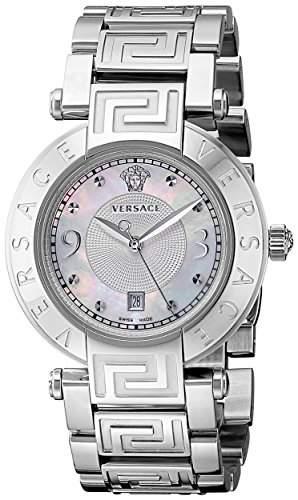 Versace Damen-Armbanduhr XS New Reve Analog Quarz Edelstahl 68Q99D498S099