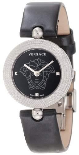 Versace Damen-Armbanduhr XS EON SOIREE Analog Leder 94Q99D008S009