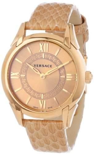 "VERSACE Damen Armbanduhr ""Dafne"" VFF02 0013; rosegold, champagner"