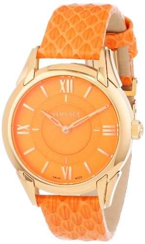 "VERSACE Damen Armbanduhr ""Dafne"" VFF06 0013; gelbdgold, orange"