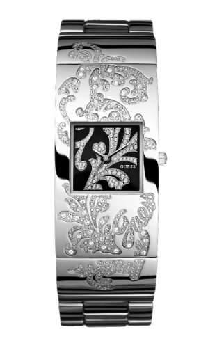 Guess Damen-Armbanduhr Analog Edelstahl W11135L1