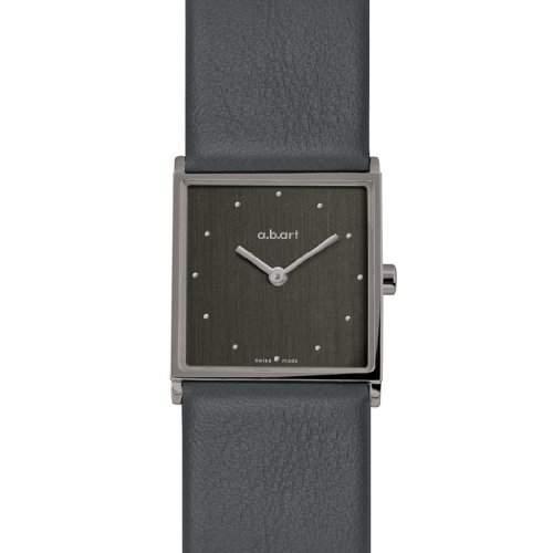 abart Damen-Armbanduhr ES550 Analog Leder schwarz ES550