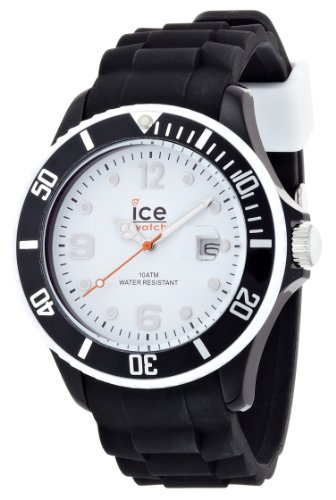 Ice Watch Armbanduhr ice White Big Weiss Schwarz SI BW B S 11