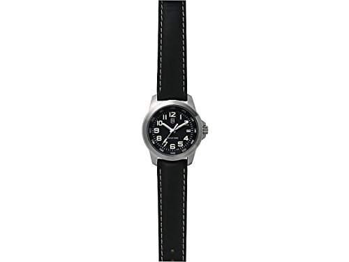Greiner Lumi-Time Armbanduhr, Edelstahlgehaeuse,, L