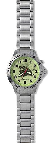 Greiner 1209 CSM Armbanduhr Motiv Keiler