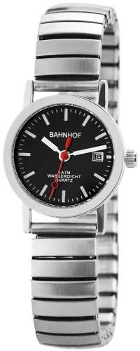 Bahnhof Damen-Armbanduhr XS Analog Quarz verschiedene Materialien 170221000001