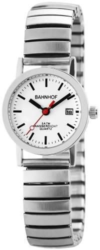 Bahnhof Damen-Armbanduhr XS Analog Quarz verschiedene Materialien 170222000001