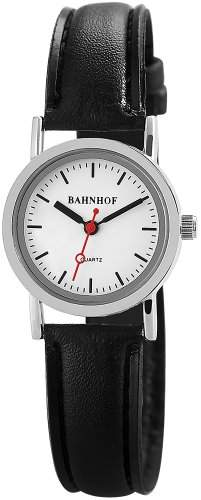 Bahnhof Damen-Armbanduhr XS Analog Quarz verschiedene Materialien SS2822000004