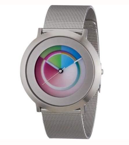 Colour Inspiration Unisex-Armbanduhr Analog Edelstahl 2014M008
