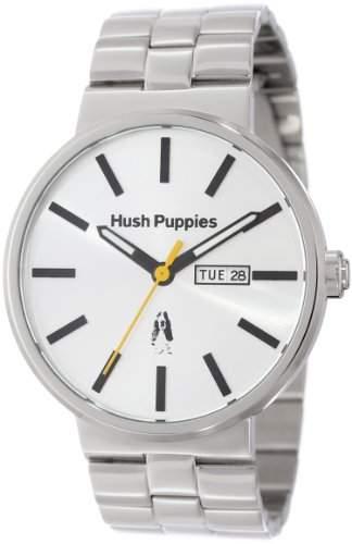 Hush Puppies Herren-Armbanduhr Orbz Analog Automatik edelstahl Silber HP3792M1522
