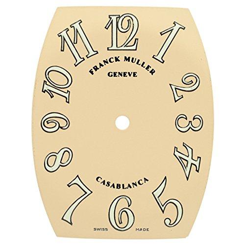 Franck Muller Casablanca 26 x 34 mm Leuchtmittel Matt lachs Zifferblatt fuer Unisex Armbanduhr