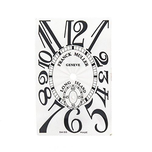 Franck Muller Long Island Champagner 19 x 30 mm Damen Armbanduhr Zifferblatt