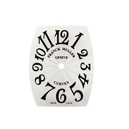 Franck Muller cintree curvex 20 x 24 mm Silber Zifferblatt fuer Frauen Armbanduhr