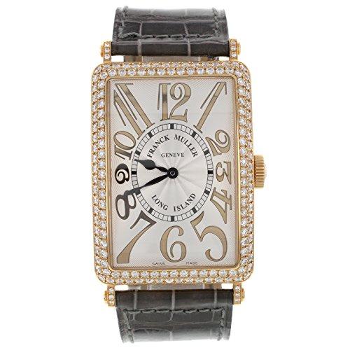Franck Muller Geneve Long Island 18 K Rose Gold Diamant Automatische Unisex Armbanduhr