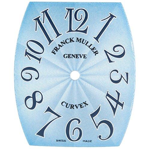 Franck Muller cintree curvex 23 x 28 mm hellblau Zifferblatt fuer Frauen Armbanduhr
