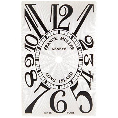 Franck Muller Long Island 19 x 30 mm Silber Zifferblatt fuer Frauen Armbanduhr