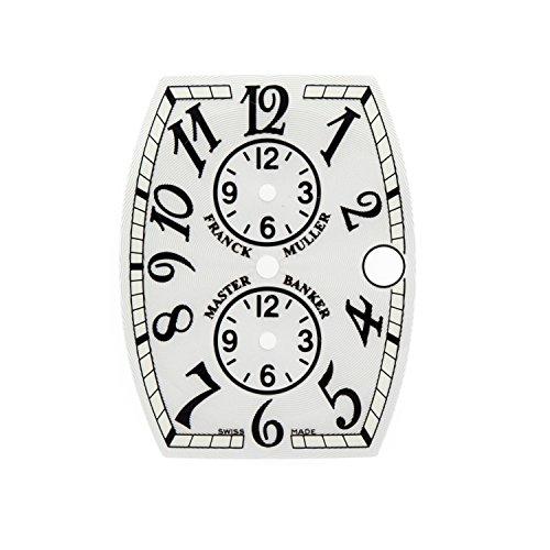 Franck Muller Master Banker 26 x 34 mm Silber Zifferblatt fuer die automatische Herren Armbanduhr