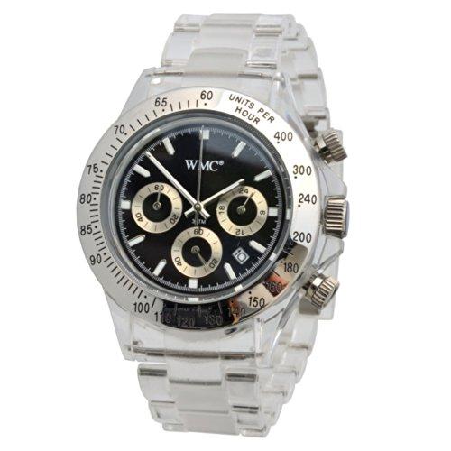 WMC Unisex Quarz Chronograph Modellreihe Joywatch Kunststoff Gehaeuse Armband 3ATM Modell 2320