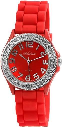 Shahafi GmbH Damen-Armbanduhr Analog Quarz Kautschuk RP3412500001