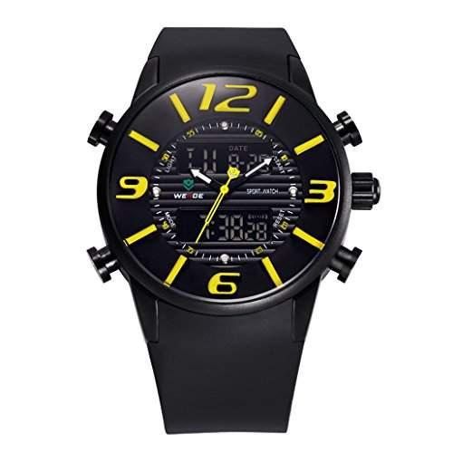 Herren Multifunktion Sport Armbanduhr Quartz Analog-Digital 30M wasserdicht WH-3402#3