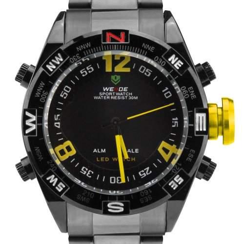 WEIDE Herren-Armbanduhr WH-2313-BW
