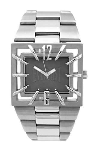Everlast Herren-Armbanduhr Analog Quarz Edelstahl 49-0051-GR