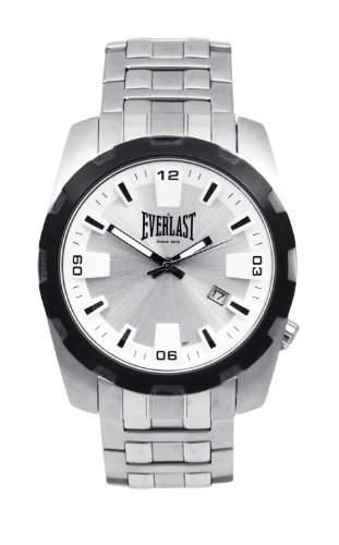 Everlast Herren-Armbanduhr Analog Quarz Edelstahl 49-0071-501