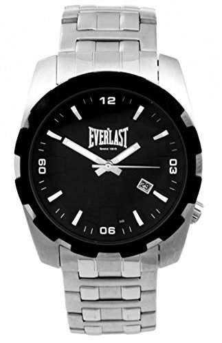 Everlast Herren-Armbanduhr Analog Quarz Edelstahl 49-0071-502