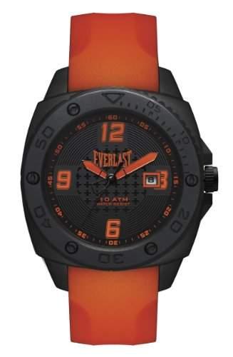 Everlast-EV - 222-003-Herren Uhr-Quarz-Analog Polyurethan, Orange