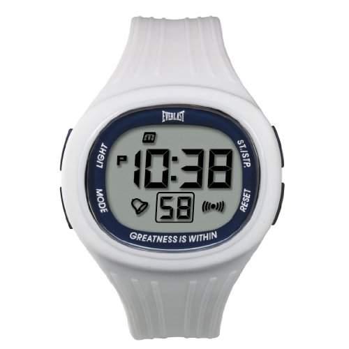 Everlast Unisex Armbanduhr 33-502DG Digital Quarz Kunststoff weiss EV - 502-103