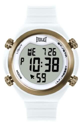 Everlast 33-503DG Unisex-Armbanduhr Digital Quarz Kunststoff weiss EV - 503-003