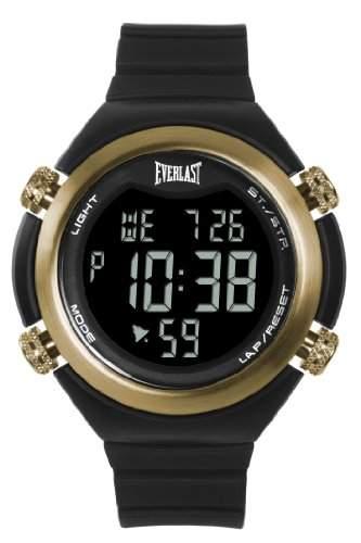 Everlast Unisex-Armbanduhr 33-503dg Digital Automatik Kunststoff schwarz EV-503-004