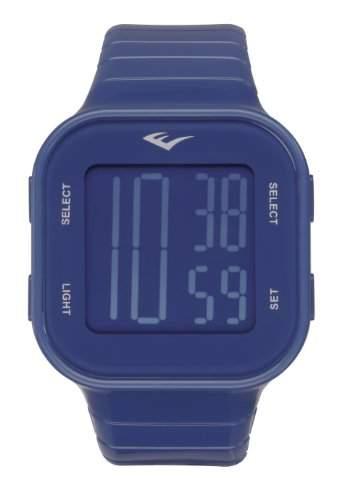 Everlast Unisex-Armbanduhr 33-504 Digital Automatik Kunststoff blau EV-504-003