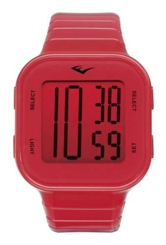 Everlast Unisex-Armbanduhr 33-504 Digital Kunststoff rot EV - 504-004