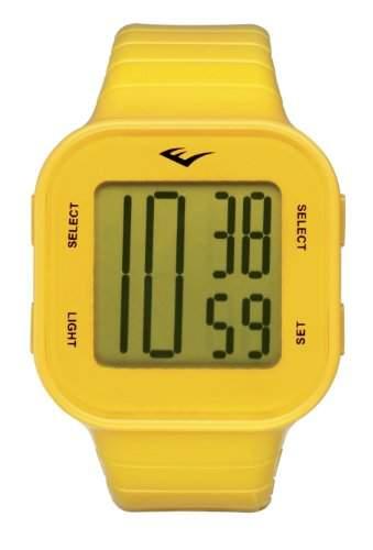 Everlast Unisex-Armbanduhr 33-504 Digital Automatik Kunststoff gelb EV-504-005