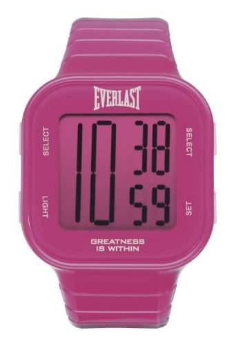 Everlast Unisex-Armbanduhr 33-504 Digital Automatik Kunststoff Pink EV - 504-102