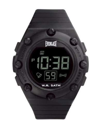 Everlast Unisex-Armbanduhr Digital Automatik Kunststoff schwarz EV - 506-001