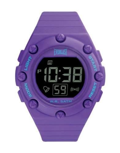 Everlast Unisex-Armbanduhr Digital Quarz violett EV - 506-003