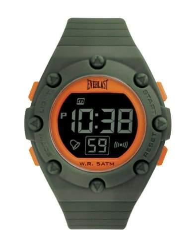 Everlast Unisex-Armbanduhr Digital Kunststoff gruen EV - 506-007