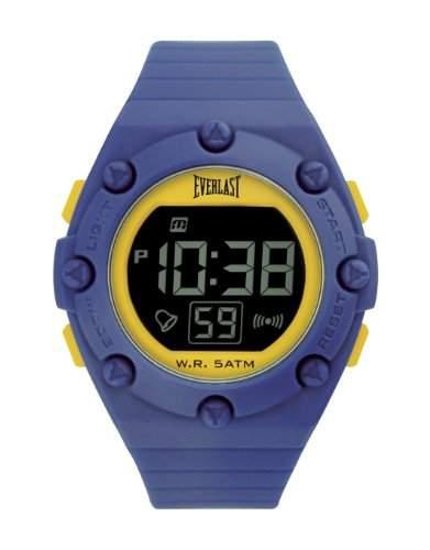 Everlast Unisex-Armbanduhr Digital Kunststoff blau EV - 506-009
